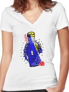Antidote Women's Fitted V-Neck T-Shirt