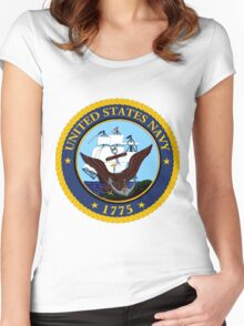 Navy Seal Women's Fitted Scoop T-Shirt