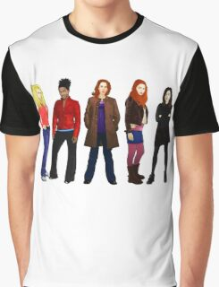 Doctor Who - The Companions Graphic T-Shirt