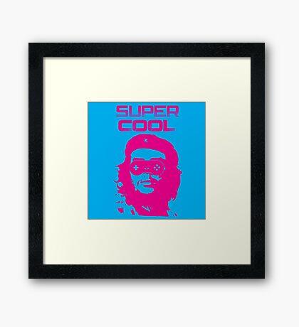 SUPER COOL Framed Print