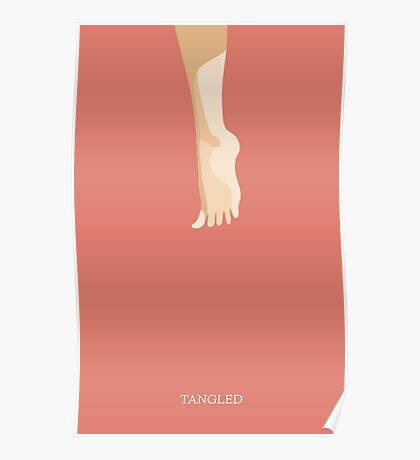 Tangled Minimalist Poster