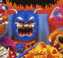Ghosts 'n Goblins Sticker