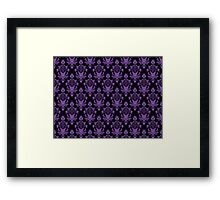 Haunted Wallpaper Framed Print