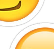 Emoji Smirking Sticker