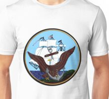 Constitution, Eagle & Anchor Logo of the Navy Unisex T-Shirt