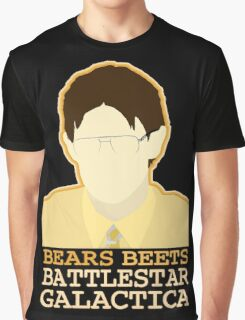 Bears Beets Graphic T-Shirt