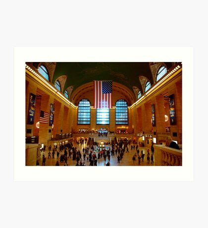 Grand Central Station New York City Art Print