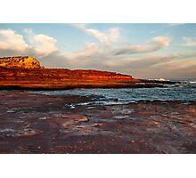 The Bird - Red Bluff Beach - Kalbarri Photographic Print