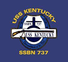 USS Kentucky (SSBN-737) Crest for Dark Colors Unisex T-Shirt