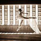 Ballet Dancer In the Light by Kel-Z