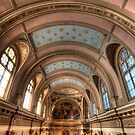 St. Mary of the Angels Vertical by Adam Bykowski