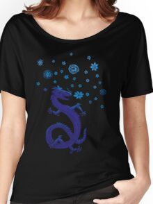 Northern Lights Dragon Women's Relaxed Fit T-Shirt