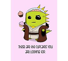 The Cupcakes You Are Looking For Photographic Print