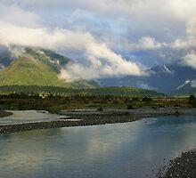 mahitahi river south westland nz by rina  thompson