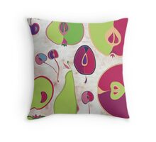 Fruit Collection Throw Pillow