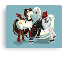 My little Vampires: Drusilla and Spike Canvas Print