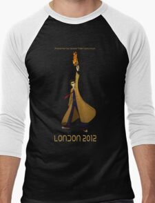 Preserve the Space-Time Continuum: The Doctor in London 2012 Men's Baseball ¾ T-Shirt