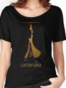 Preserve the Space-Time Continuum: The Doctor in London 2012 Women's Relaxed Fit T-Shirt