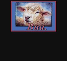 """Baa."" (with background) T-Shirt"