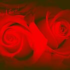 'TO THE ONE I LOVE' - SAY IT WITH ROSES! by Colleen2012