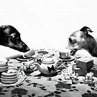 Doggy Tea Party by Ali Choudhry