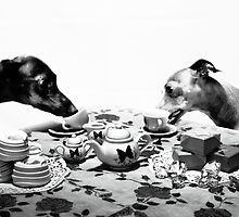 Doggy Tea Party by AHakir