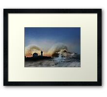 The Nubble in Trouble Framed Print