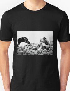 Doggy Tea Party Unisex T-Shirt