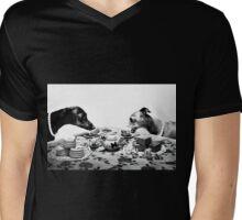 Doggy Tea Party Mens V-Neck T-Shirt