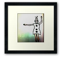 olaf taylor swift Framed Print