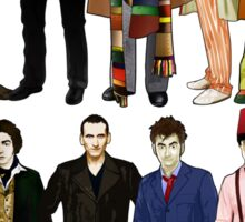Doctor Who - Alternate Costumes 13 Doctors Sticker