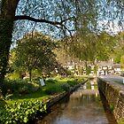 Bibury Trout Farm and Swan Hotel by Melodee Scofield
