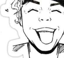 Ashton babe Sticker