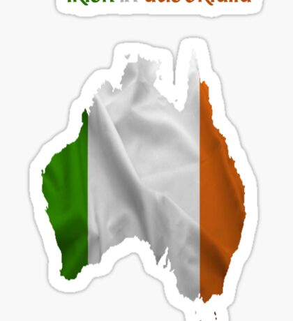 Irish in Australia  Sticker