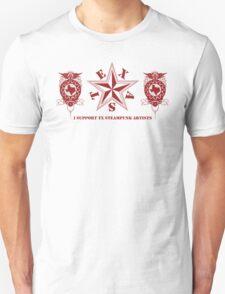I Support TX Steampunk Artists T-Shirt