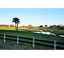 A Day of Golf Photographic Print