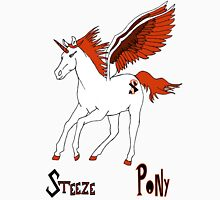 Steeze Pony Red Unisex T-Shirt