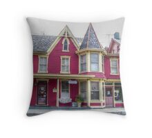 Victorian Shop Throw Pillow