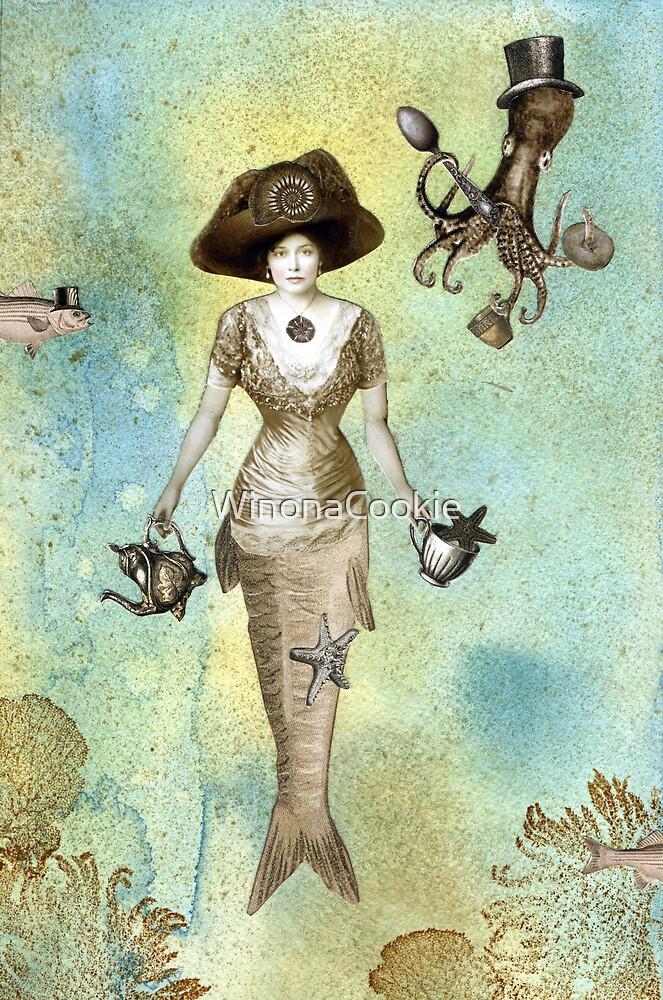 A Mermaid's Tea by WinonaCookie