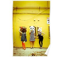 Furry Fashion Poster