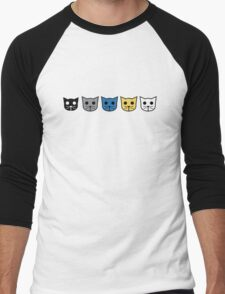 Meow Meow Beenz Community Men's Baseball ¾ T-Shirt