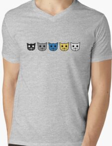 Meow Meow Beenz Community Mens V-Neck T-Shirt