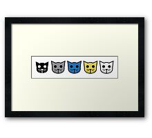 Meow Meow Beenz Community Framed Print