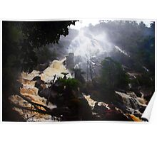 Beautiful Tasmania - St Columba Falls Poster