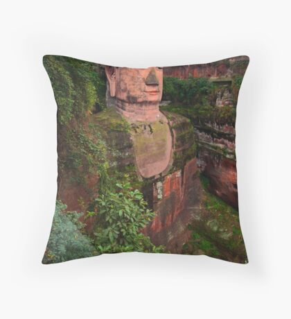 The Giant is Watching Throw Pillow