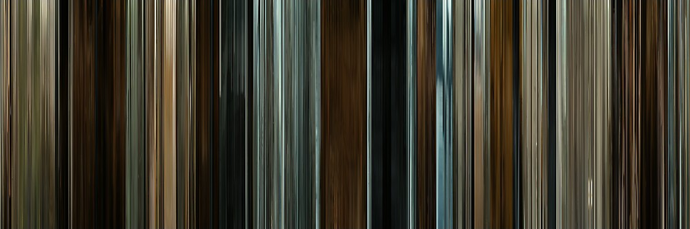 Moviebarcode: The Assassination of Jesse James by the Coward Robert Ford (2007) by moviebarcode