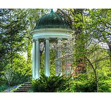 Philbrook Art Museum's Gazebo Garden  Photographic Print