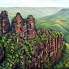 Etched in Time, Blue Mountains by Linda Callaghan