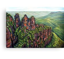 Etched in Time, Blue Mountains Canvas Print