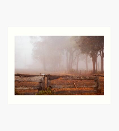 Frankland Fog Art Print
